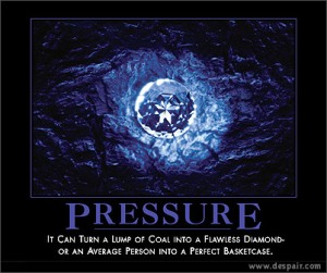 Welcome pressure