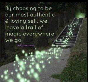 Leave a trail of magic