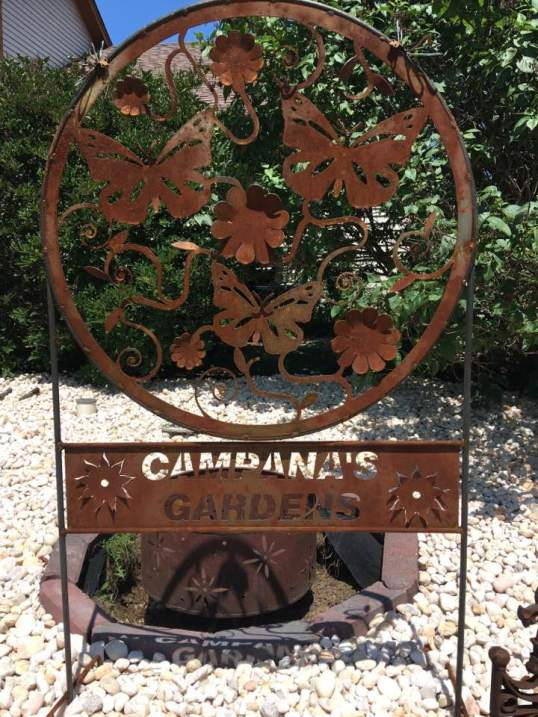Campana's Gardens Metal Structure